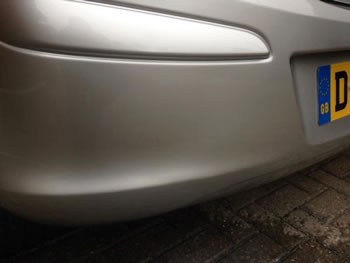 Cracked bumper brentwood essex