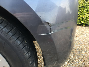 Bumper Crack on Corsa Hertford