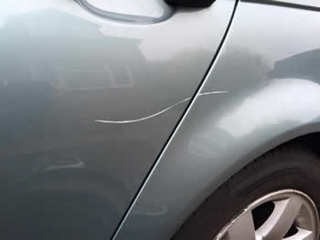 Average scratch repair cost