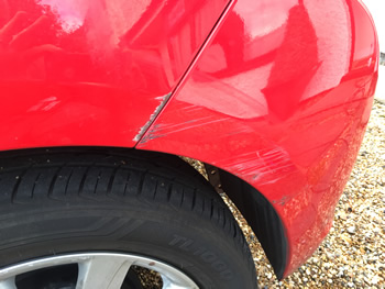 Wheel Arch Panel Scuff Bishops Stortford